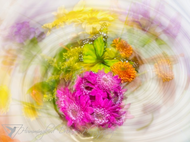 Spinning Flowers