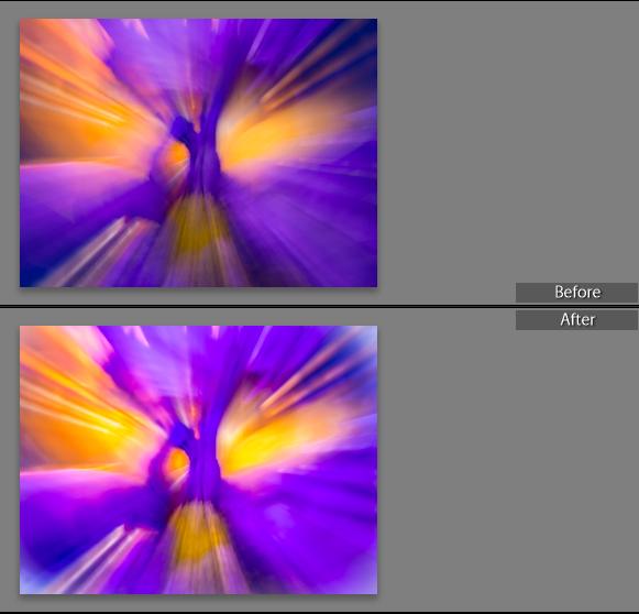Warp Speed Before/After