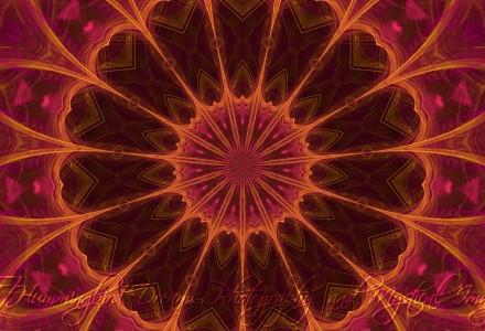 Rose Gold Mandala 1