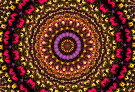 Hearts Mandala 1